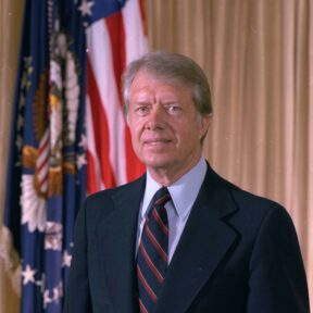 Photo from Wikimedia Commons / Author of Photo: Official portrait of Jimmy Carter - NARA